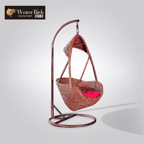 basket swing chair weaver rattan furniture outdoor indoor balcony wicker