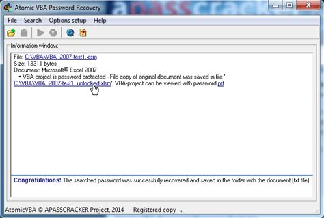 vba recovery password free download eye scan password software free scan pst