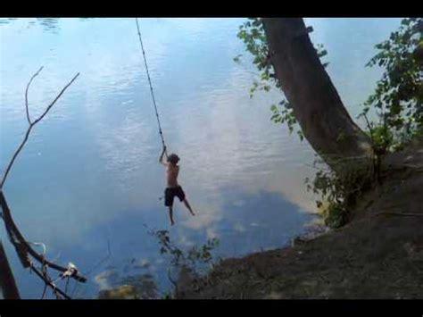 youtube rope swing delaware river rope swing 2011 youtube