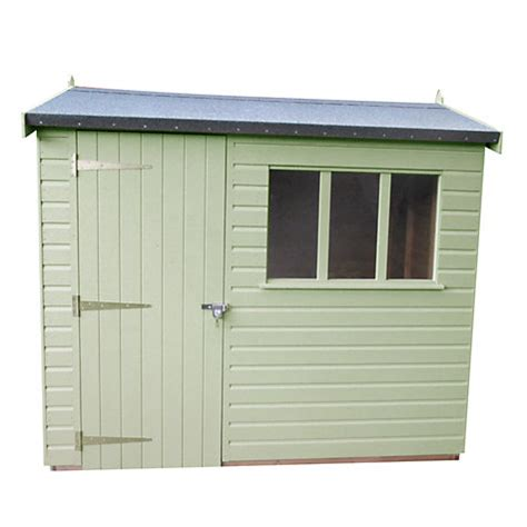 Cranes Sheds by Buy Crane 1 8 X 2 4m Balmoral Garden Shed Fsc Certified