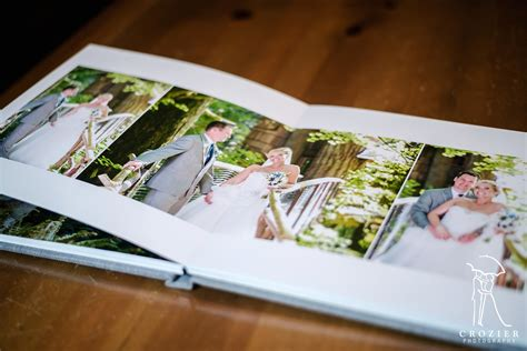 Coffee Table Wedding Albums Coffee Table Wedding Album 115 Crozier Photography