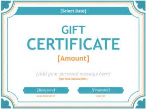 gift certificate templates free for word 20 printable gift certificates certificate templates