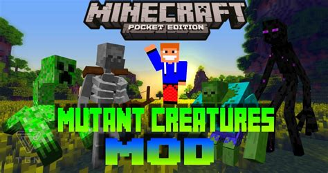 mod in minecraft pe mutant creatures mod minecraft pe 0 14 0 mcpe 0 14 0