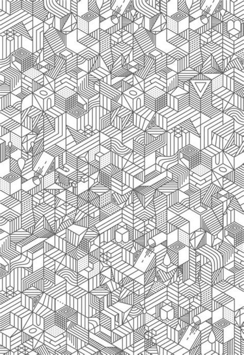 doodlebug exploration isometric pattern graphic design