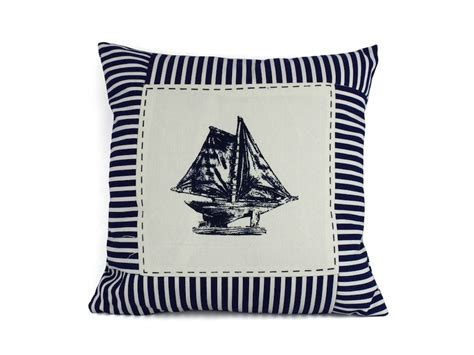 Nautical Pillows Wholesale by Wholesale Blue Sloop Nautical Stripes Decorative Throw
