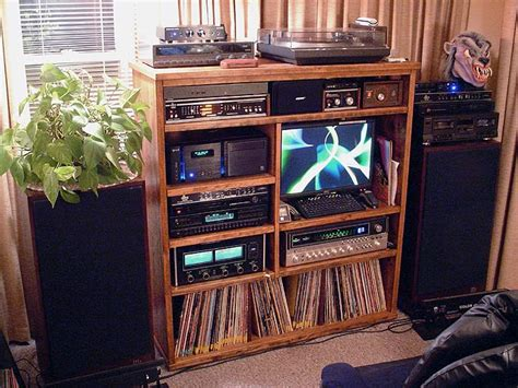 living room stereo shelves stunning stereo cabinet ikea stereo shelves wooden materials rack cool for decor