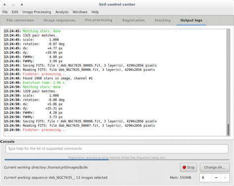 tutorial php register siril tutorial manual registration freeastro