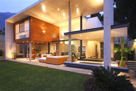 indoor outdoor house optimum indoor outdoor connectivity s house in lima peru