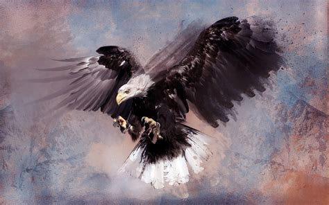 abstract eagle wallpaper eagle artwork painting wallpaper 1920x1200 10332