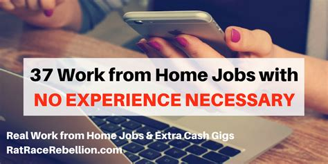 37 work from home with no experience necessary real