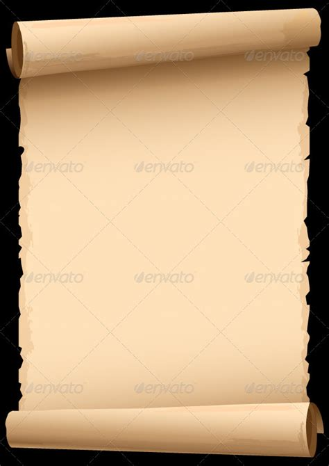 Old Paper Scroll Sourcecodes Pro Scroll Paper Template
