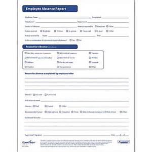 complyright employee absence report form staples 174