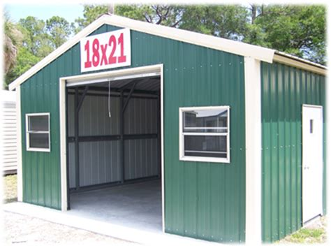 Small Metal Garage by Ld Buildings Portable And Steel Buildings Jacksonville Fl