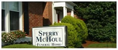 sperry mchoul funeral home obituaries