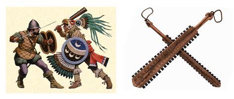 imagenes de armas aztecas el armamento azteca orden de batalla historia militar