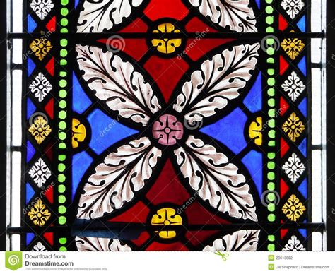 stained glass l designs church stained glass window flower design stock