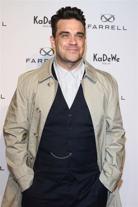 Pop Nosh Robbie Williams Does Rehab by Robbie Williams Archive Daily Dish