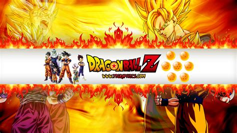 Dragon Ball Z Youtube Channel Art Banners Z Banner Template