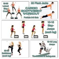 cardio bodyweight workout