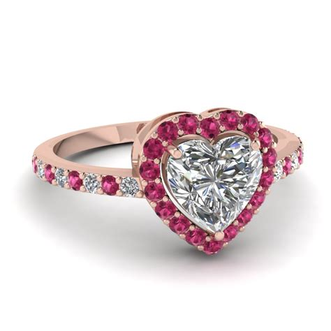 Pink Engagement Ring by Pink Engagement Rings Simply The Best When One