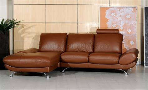 style brown leather sofa brown leather upholstery modern style sectional sofa
