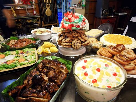 new year cook food media noche recipes on new year s barako