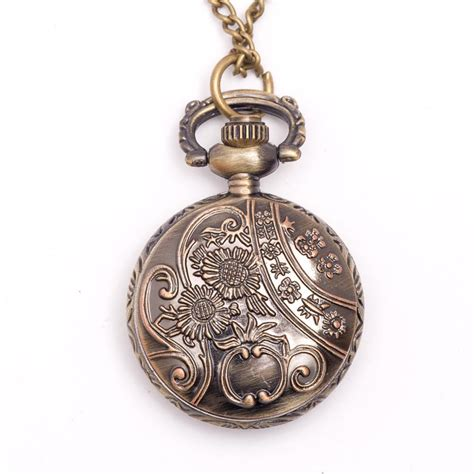 Pocket Necklace vintage style pocket locket pendant
