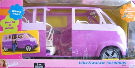 barbie cars with back seats richardncan onsale barbie volkswagen microbus vehicle van