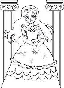 coloring pages girls 7 coloring kids