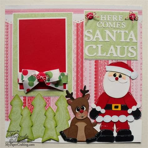 scrapbook layout ideas for christmas my paper crafting com my cricut christmas scrapbook layouts