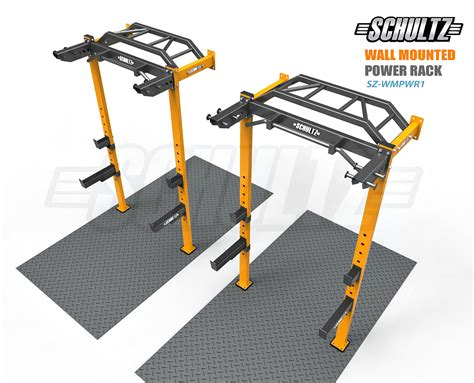 Wall Mounted Power Rack by Equipment Manufacturer In India Schultz Power Rack
