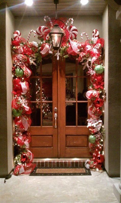 candy cane christmas decor ideas   home feed