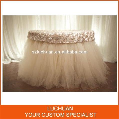 best 25 tulle table ideas on