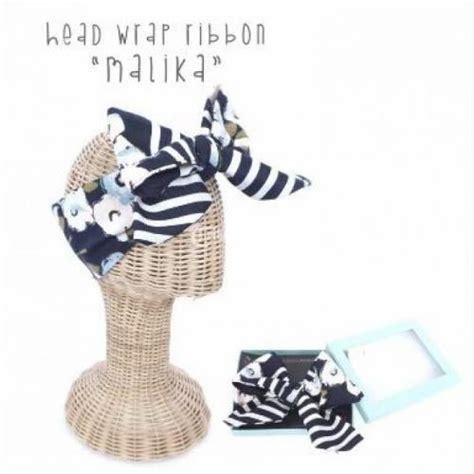 Bando Bandana Bayi Rajut Besar Pita bandana bando pita ribbon bayi balita harga murah motif unik jakarta dijual tribun jualbeli