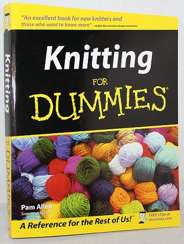 knitting for dummies smorgasbord sundays i knit do you swatch and learn