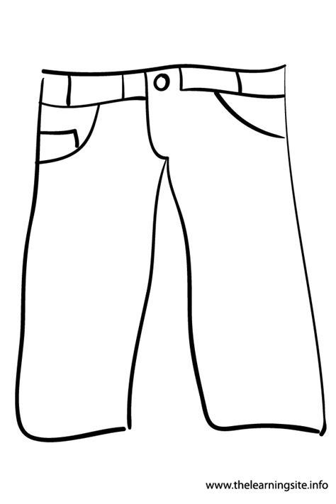printable jeans template pants coloring pages murderthestout