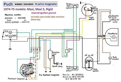 puch wiring diagrams for motorcycles get free image