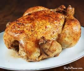 slap ya mama s whole baked chicken slap ya mama