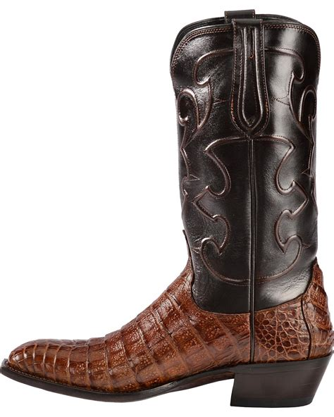 Handmade Lucchese Boots - lucchese s handmade 1883 charles crocodile belly