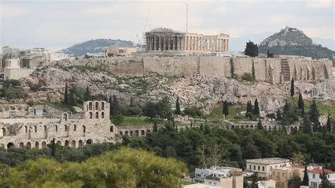 the real of the parthenon 21st century essays books acropolis lights up at sunset dusk skyline overview real