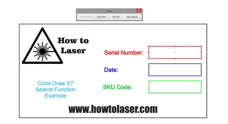 corel draw x7 how to use using corel draw x7 search feature