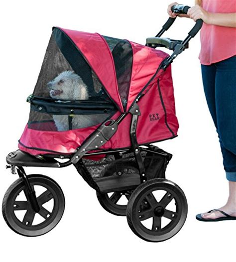 Rugged Stroller by Pet Gear At3 No Zip Pet Stroller Rugged Luxury