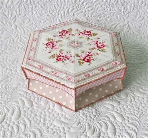 easy fabric gift box pattern
