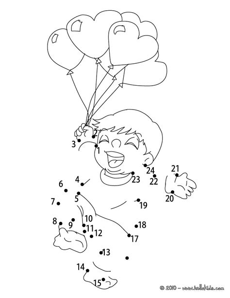 Heart balloon bunch coloring pages - Hellokids.com