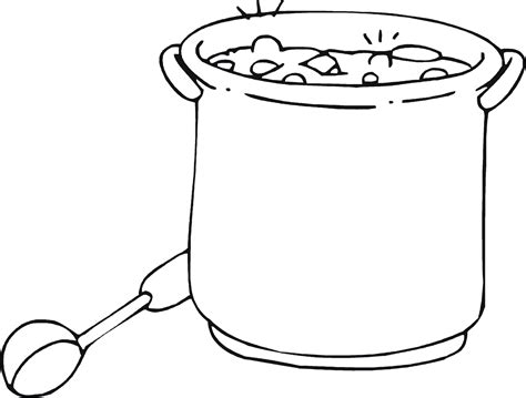 soup coloring pages