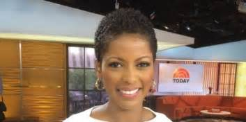 the today show tamara hair cut tamron hall wears natural hair on tv for first time ever