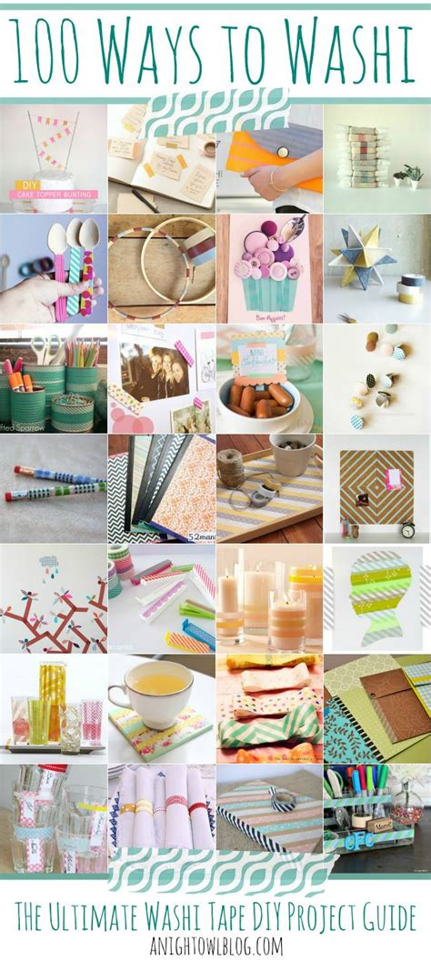 washi tape craft ideas 100 ways to washi the ultimate washi tape projects guide