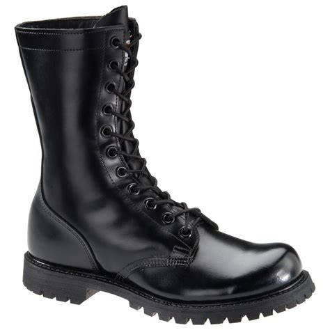 s black boot s corcoran 174 10 quot combat boot with lug outsole black