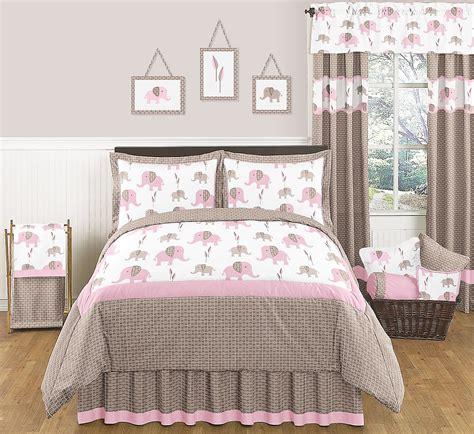 pink bedding queen sweet jojo designs elephant pink collection 3pc full queen