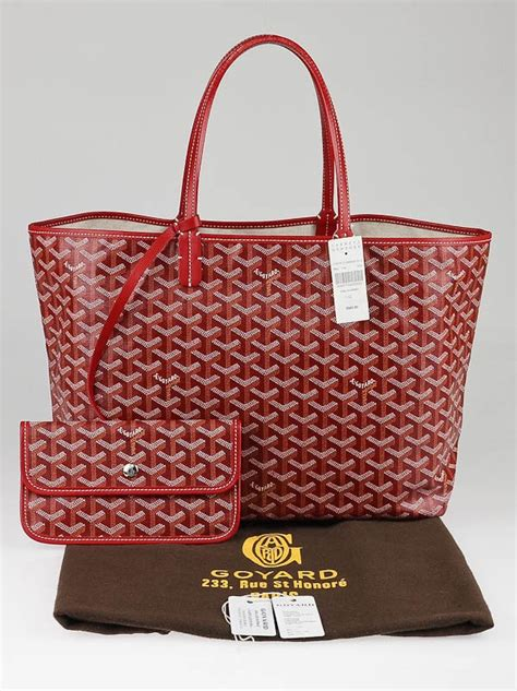 Bright Totes By Zagliani At Matches by Goyard Chevron Print Coated Canvas St Louis Pm Tote